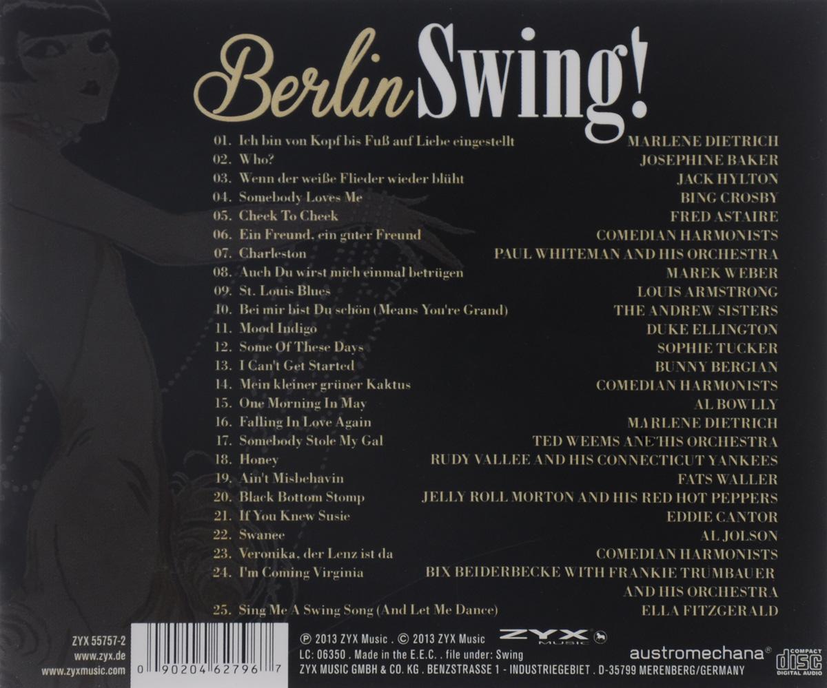 Berlin Swing! ZYX Music,Волтэкс-инвест