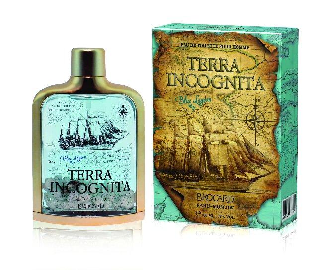 Brocard Terra Incognita Blue Lagoon Туалетная вода для мужчин, 100 мл359188Аромат раскрывается нотами прохладного зеленого листа и свежеразрезанного яблока. В сердце аромата объединяются напоенная водой мимоза, холщовый аккорд, ноты водяного лотоса. Древесный шлейф аромата заключает в себе смесь из мха, кедрового дерева, мускуса и амбрыКраткий гид по парфюмерии: виды, ноты, ароматы, советы по выбору. Статья OZON Гид