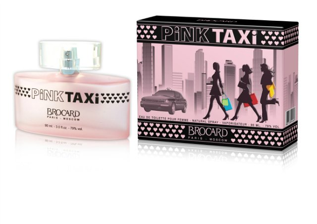 Brocard Pink Taxi Туалетная вода для женщин, 90 мл321101Утонченный, свеже-цветочно-фруктовый, нежный и упоительный.Верхние ноты: земляника, красная смородина, цитрус, красное яблоко, Сердце: жасмин, сладкий горошек, роза, фрезия, Базовые ноты: амбра, сандал, малина, мускус