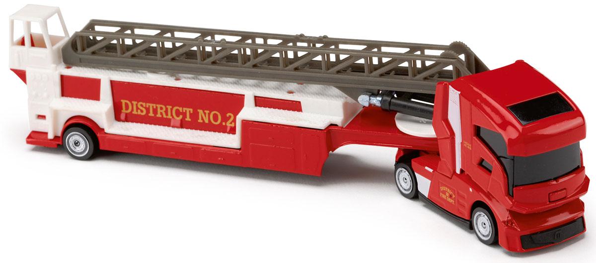 Majorette Машинка Транспортер цвет красный