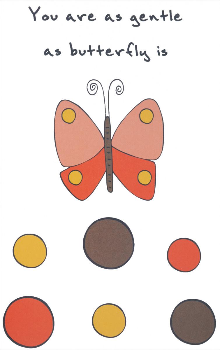 """""""You are as Gentle as Butterfly is"""" Ѕлокнот дл¤ записей"""