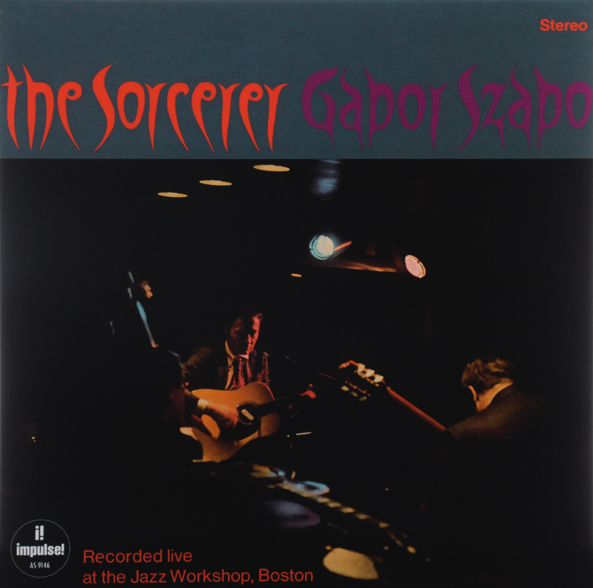 Gabor Szabo. The Sorcerer (LP)