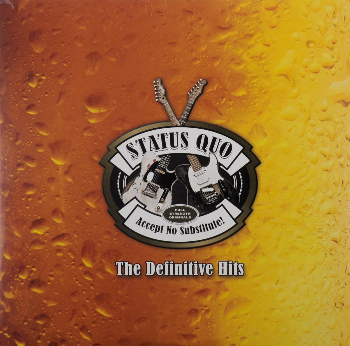 Status Quo Status Quo. The Definitive Hits (2 LP) status quo status quo piledriver deluxe edition 2 cd
