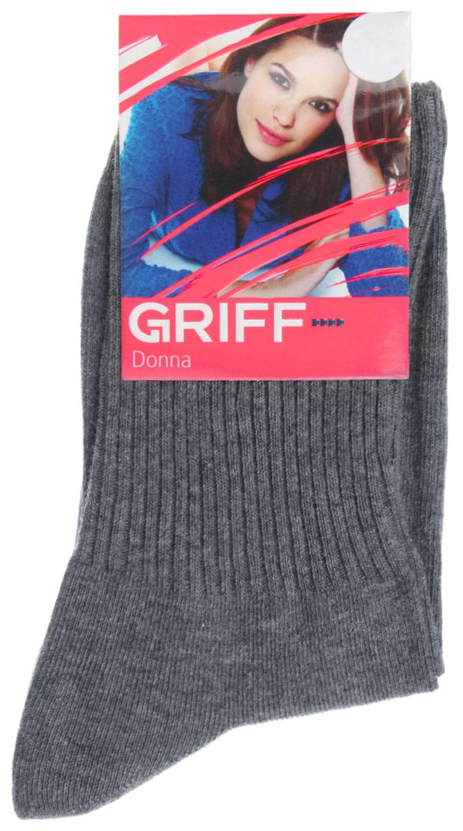 Носки женские Griff Резинка, цвет: меланж. D4O1. Размер 39/41D4O1Женские носки Griff Резинка изготовлены из высококачественного сырья. Носки очень мягкие на ощупь, а широкая резинка плотно облегает ногу, не сдавливая ее, благодаря чему вам будет комфортно и удобно. Усиленная пятка и мысок обеспечивают надежность и долговечность.