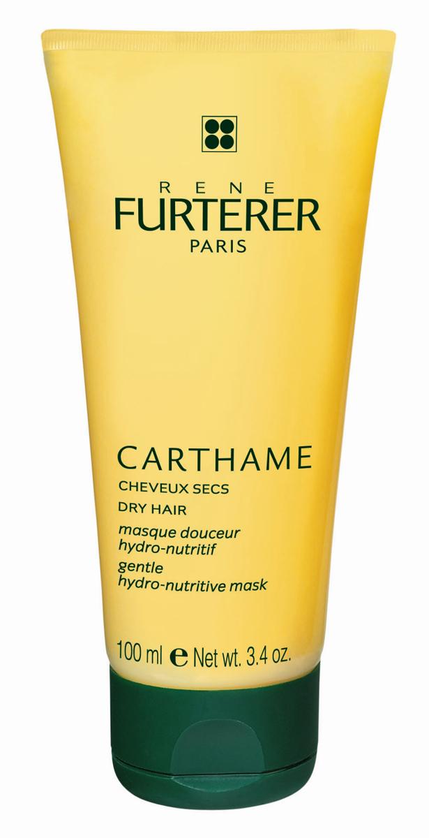 Rene Furterer Carthame Маска увлажняющая питательная, для сухих волос, 100 мл3282779200905Идеальное средство для сухой кожи головы и сухих волос. Интенсивная маска с легкой кремовой текстурой и приятным ароматом эфирного масла апельсина не утяжеляет волосы. Она мгновенно насыщает влагой и питательными компонентами волосы и кожу, восстанавливая их. Волосам возвращается легкость, мягкость, блеск и эластичность. Они становятся более сильными. Маска облегчает расчесывание волос.Равномерно нанести небольшое количество маски на чистые влажные волосы и кожу головы. Оставить на 5 минут, затем хорошо смыть водой. Используется 1 или 2 раза в неделю.