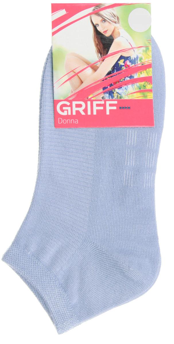 Носки женские Griff Бамбук, цвет: голубой. D4U5. Размер 35/38D4U5Женские укороченные носки Griff изготовлены из высококачественного сырья. Однотонные носки очень мягкие на ощупь, а широкая резинка плотно облегает ногу, не сдавливая ее, благодаря чему вам будет комфортно и удобно. Усиленная пятка и мысок обеспечивают надежность и долговечность.