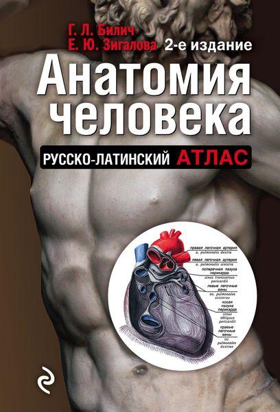 Билич Г.Л., Зигалова Е.Ю. Анатомия человека. Русско-латинский атлас анна спектор большой иллюстрированный атлас анатомии человека