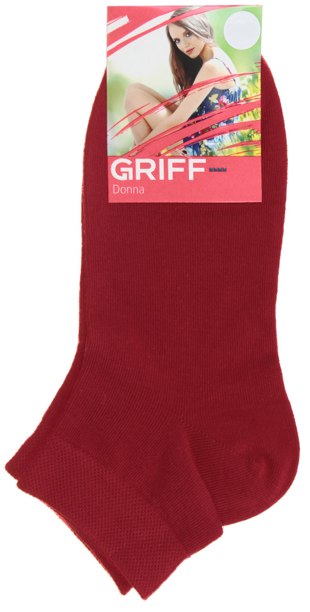 Носки женские Griff Donna, цвет: красный. D4U3. Размер 35/38 griff d4u3 5