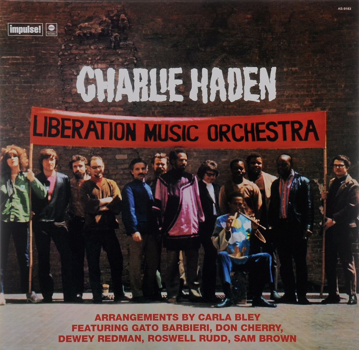 Чарли Хэйден Charlie Haden. Liberation Music Orchestra (LP) 90th construction liberation stamps chinese people liberation armye colorful