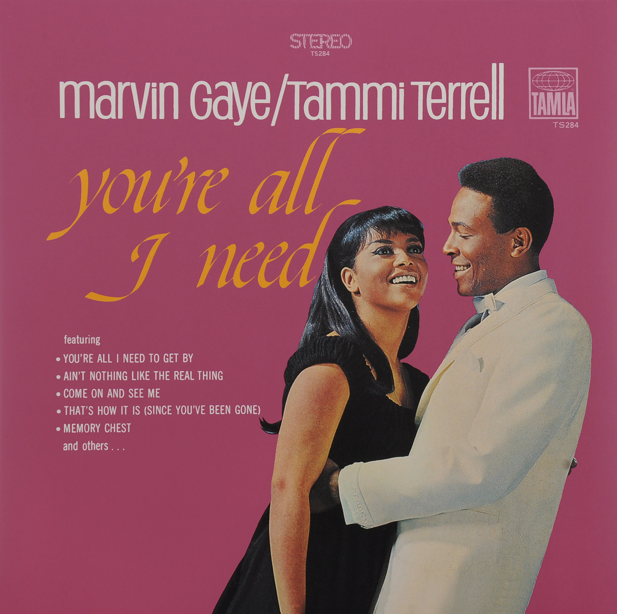 Марвин Гэй,Тамми Тэррелл Marvin Gaye & Tammi Terrell. You're All I Need (LP) марвин гэй marvin gaye trouble man motion picture soundtrack lp