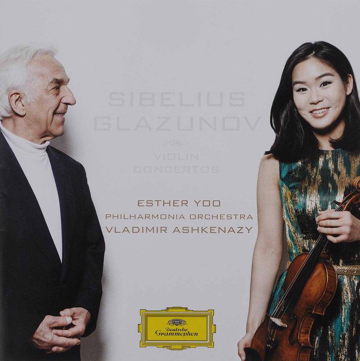 все цены на Владимир Ашкенази,Philharmonia Orchestra,Esther Yoo Vladimir Ashkenazy. Sibelius / Glazunov. Violin Concertos