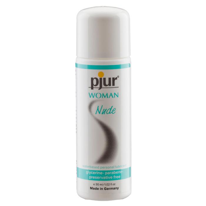 Pjur, Женский бережный лубрикант pjurnude 30 мл сорочка короткая mia mia elegance de lux черная s