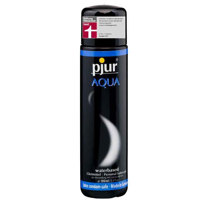 Pjur, Увлажняющий лубрикант pjur AQUA 100 мл1PJURAQUA-100Лубрикант на водной основе. Качество говорит само за себя. Очень бережно отностися к слизистым оболочкам на микробиологическом уровне. Лубрикант увлажняет кожу, не делая ее липкой. Не содержит нефтепродуктов, масел, и парфюмерных добавок, что делает его особо нежной для вашей кожи и слизистых оболочек. Сверхмягкая формула с продолжительным скольжением питает и защищает сухую и поврежденную кожу. Будь то ежедневные ласки или регулярный уход за телом: pjur AQUA всегда оставляет приятные ощущения.