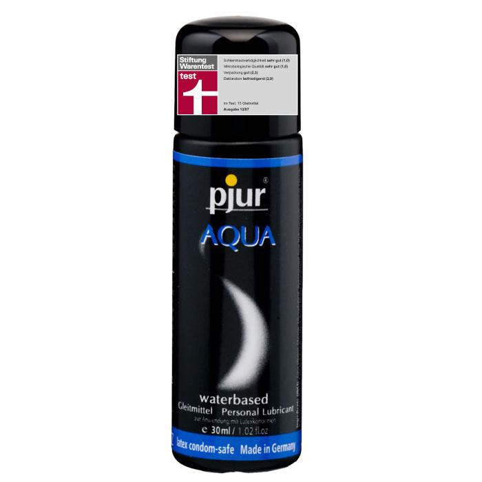 Pjur, Увлажняющий лубрикант pjur AQUA 30 мл pjur мужской лубрикант pjur superhero lubricant 30 мл