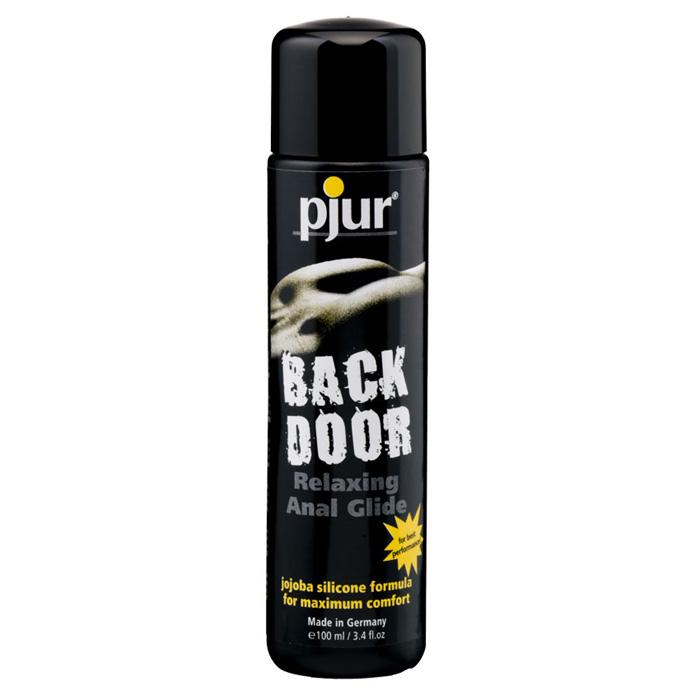 Pjur, Концентрированный анальный лубрикант pjurback door glide 100 мл fifty shades of grey yours and mine виброкольцо для пениса из коллекции 50 оттенков серого