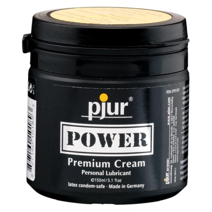Pjur, Лубрикант для фистинга pjurPower 150 мл sitabella ошейник белый широкий с шипами и поводком