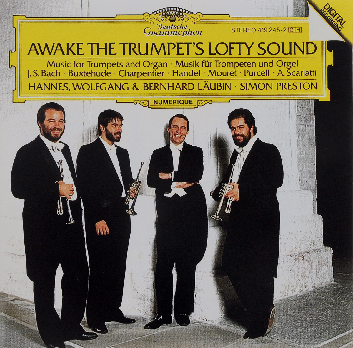 Саймон Престон,Hannes Laubin,Bernhard Laubin,Wolfgang Laubin,Norbert Schmitt Simon Preston. Awake The Trumpet's Lofty Sound саймон престон hannes laubin bernhard laubin wolfgang laubin norbert schmitt simon preston awake the trumpet s lofty sound
