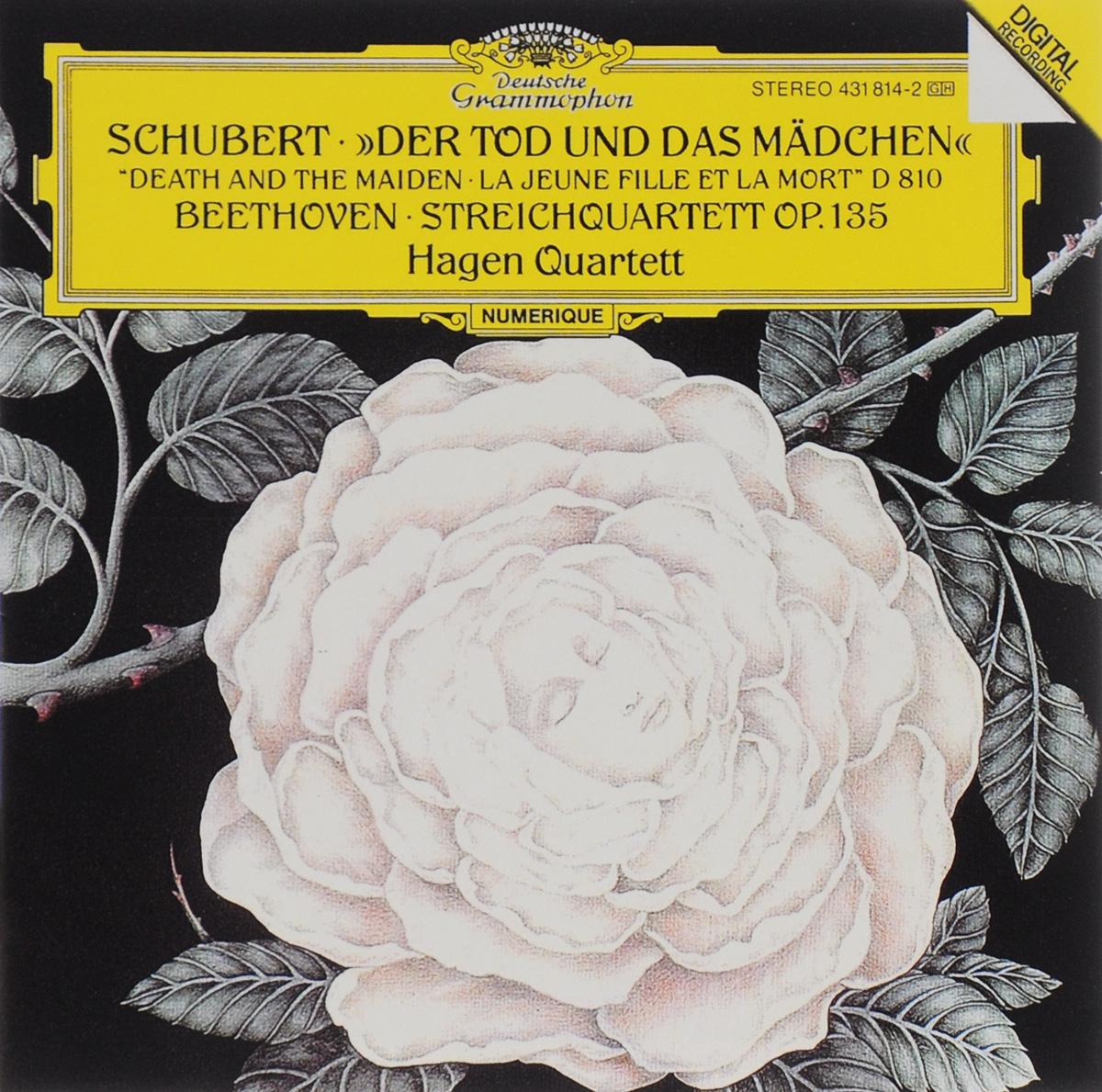 Hagen Quartett Hagen Quartett. Schubert. Der Tod Und Das Madchen / Beethoven. Streichquartett Op. 135 скатерть дорожка глория рюшаль