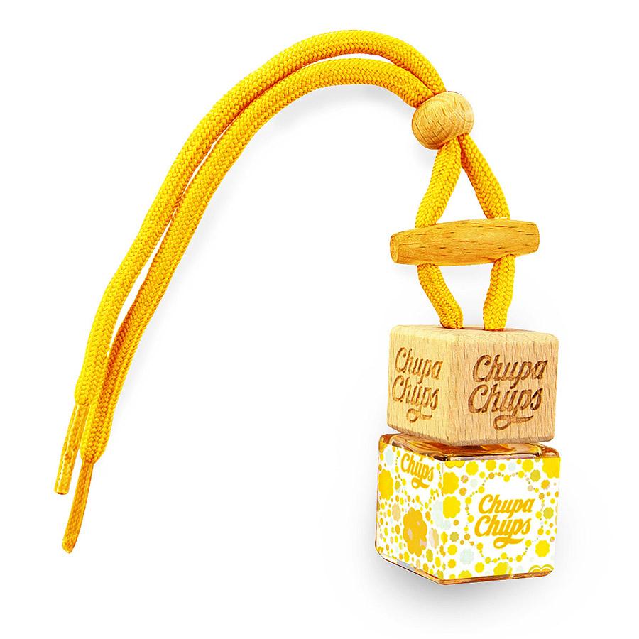 Ароматизатор воздуха Chupa Chups Лайм-Лимон, подвесной, флакон, 5 мл ароматизатор воздуха chupa chups кола подвесной двойная пропитка