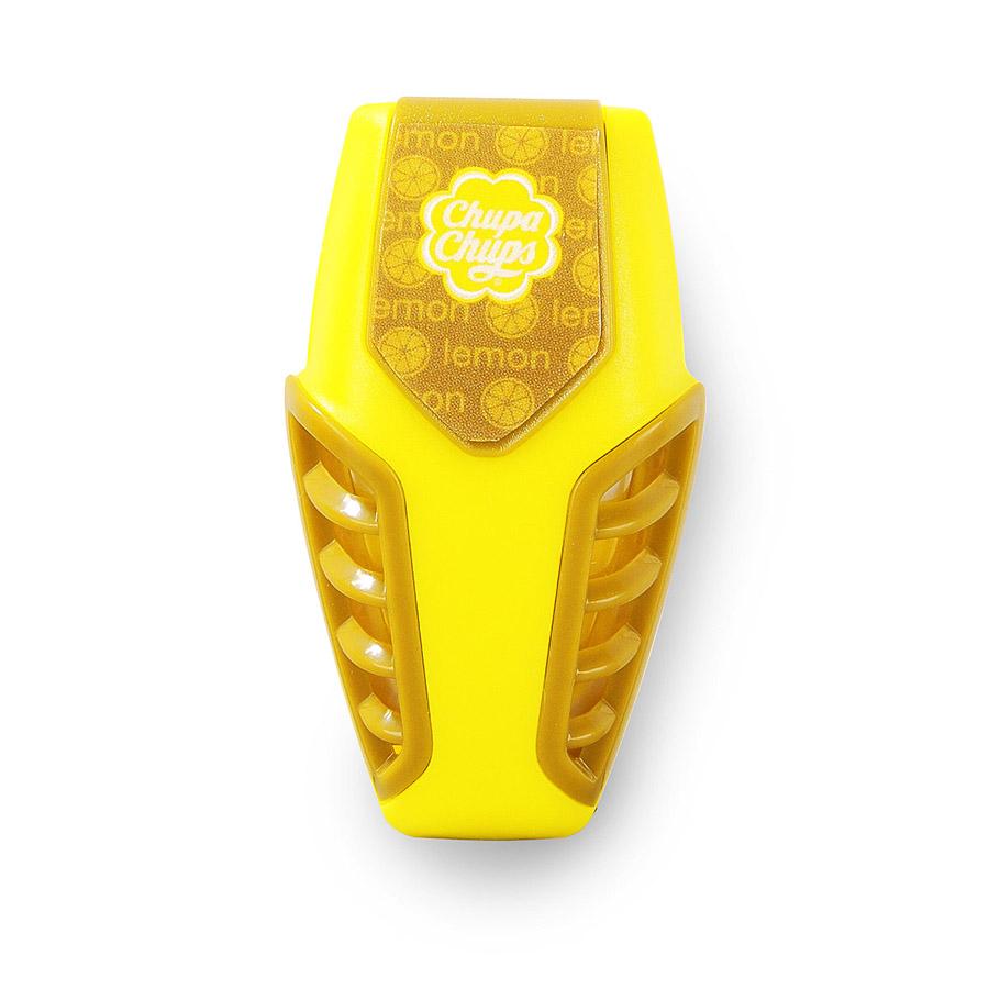 Ароматизатор воздуха Chupa Chups Лайм-лимон, на дефлектор, мембранный, гелевый, 3 млCHP301Гелевый мембранный ароматизатор Chupa Chups на дефлектор автомобиля с ароматом лимона и лайма. Это одно из самых удобных мест расположения автоароматизаторов. Легко размещается в салоне автомобиля, а оригинальный необычный дизайн ароматизатора еще и украшает салон. Срок службы 45 дней.