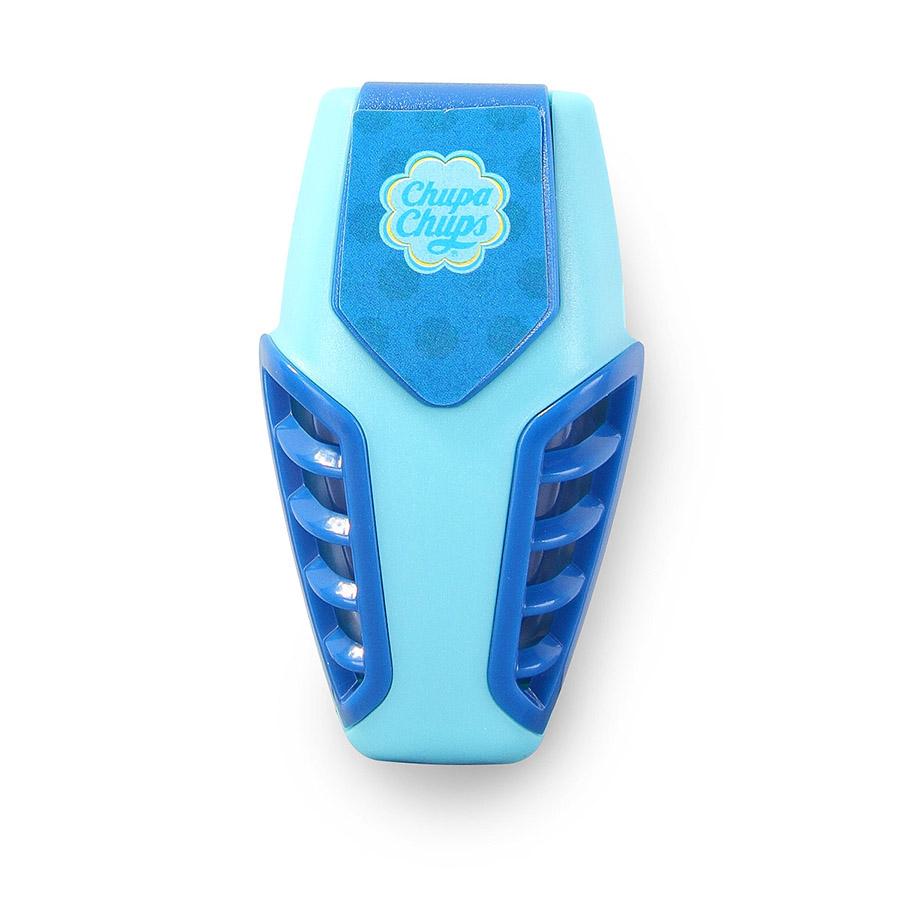 Ароматизатор воздуха Chupa Chups Ваниль, на дефлектор, мембранный, гелевый, 3 мл ароматизатор воздуха chupa chups лимон на панель приборов гелевый 100 мл