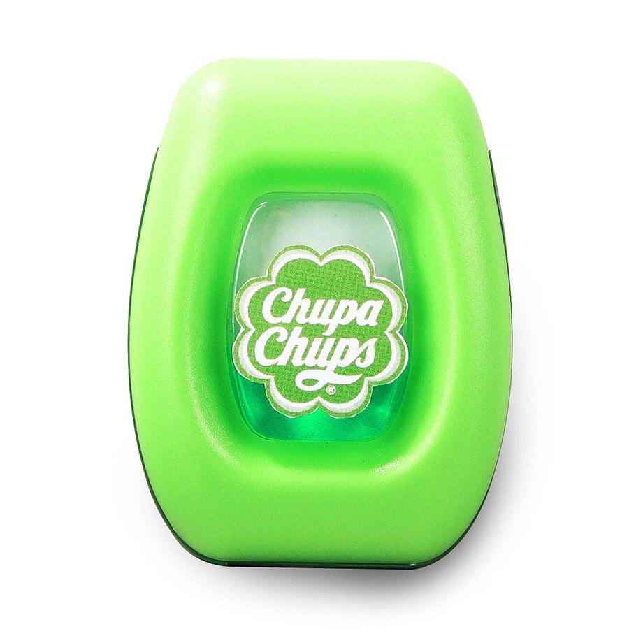 Ароматизатор воздуха Chupa Chups Яблоко, на дефлектор, мембранный, 5 млCHP400Мембранный ароматизатор Chupa Chups на дефлектор автомобиля. Аромат яблока. Объем ароматизатора 5 мл. Срок действия 45 дней.