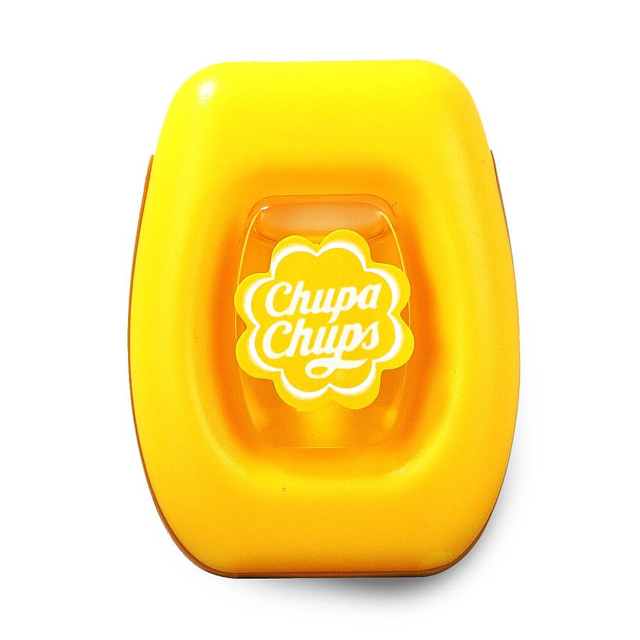 Ароматизатор воздуха Chupa Chups Лайм-лимон, на дефлектор, мембранный, 5 мл ароматизатор воздуха chupa chups лайм лимон подвесной флакон 5 мл