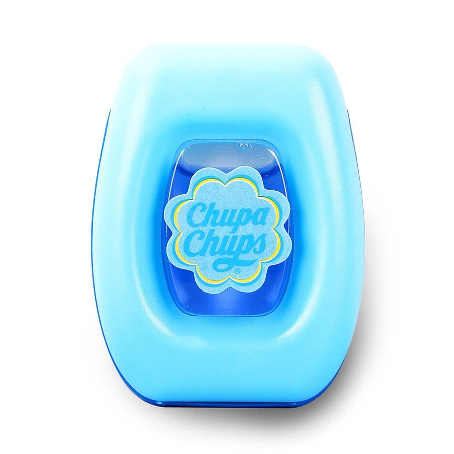 Ароматизатор воздуха Chupa Chups Ваниль, на дефлектор, мембранный, 5 мл ароматизатор воздуха chupa chups кола подвесной двойная пропитка