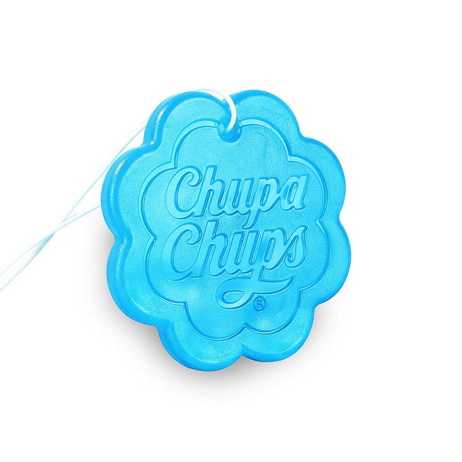 Ароматизатор воздуха Chupa Chups Ваниль, подвесной, гелевый, 18 г ароматизатор воздуха chupa chups лайм лимон подвесной флакон 5 мл