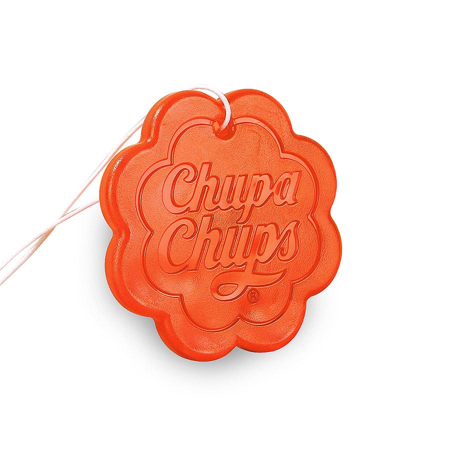 Ароматизатор воздуха Chupa Chups Арбуз, подвесной, гелевый, 18 г ароматизатор воздуха chupa chups лайм лимон подвесной флакон 5 мл