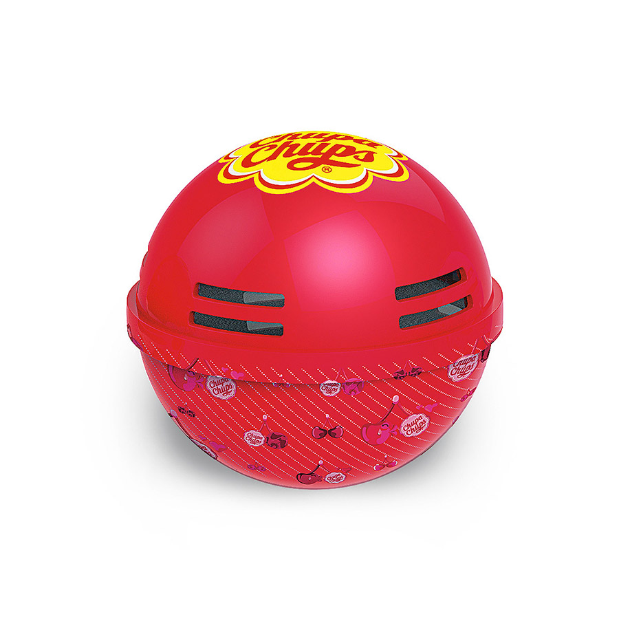 Ароматизатор воздуха Chupa Chups Клубника со сливками, на панель приборов, гелевый, 100 мл ароматизатор воздуха chupa chups ваниль подвесной флакон 5 мл