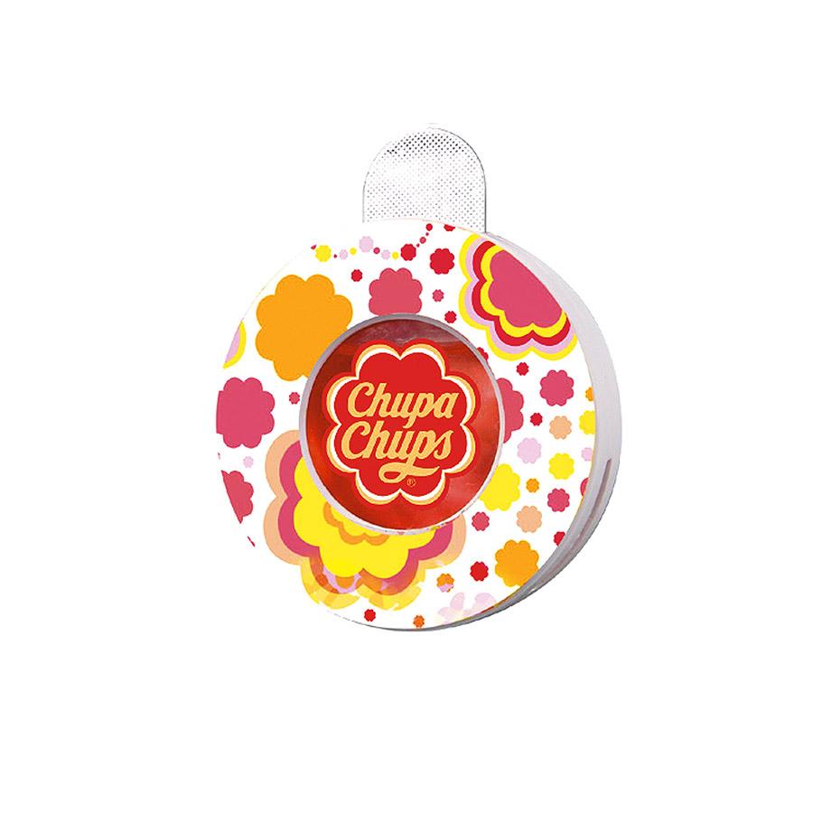 Ароматизатор воздуха Chupa Chups Апельсин, на дефлектор, жидкостный, 5 мл ароматизатор воздуха chupa chups лайм лимон подвесной флакон 5 мл