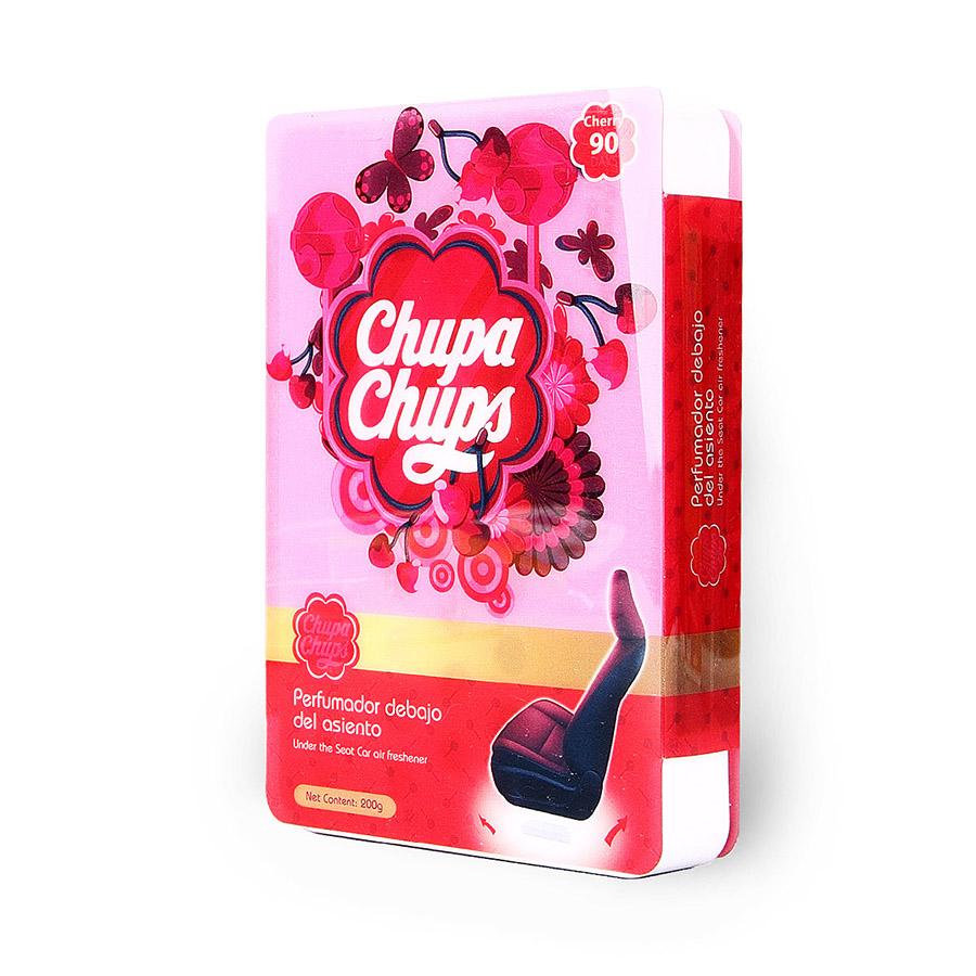 Ароматизатор воздуха Chupa Chups Вишня, под сиденье, гелевый, 200 г