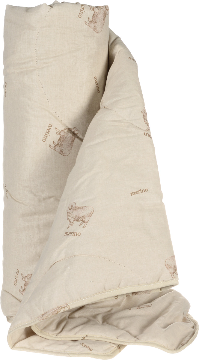 Одеяло легкое Легкие сны Полли, наполнитель: овечья шерсть, 140 x 205 см140(32)04-ОШОЛегкое стеганое одеяло Легкие сны Полли с наполнителем из овечьей шерсти расслабит, снимет усталость и подарит вам спокойный и здоровый сон.Шерстяные волокна, получаемые из овечьей шерсти, имеют полую структуру, придающую изделиям высокую износоустойчивость. Чехол одеяла, выполненный из 100% хлопка. Одеяло простегано. Стежка надежно удерживает наполнитель внутри и не позволяет ему скатываться.Рекомендации по уходу:Отбеливание, стирка, барабанная сушка и глажка запрещены. Разрешается химчистка.