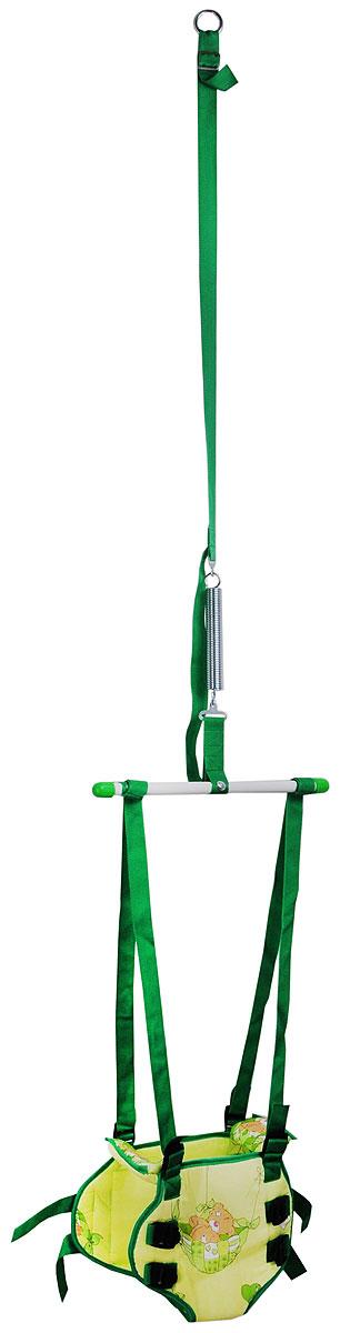 Фея Тренажер-прыгунки 2 в 1 цвет зеленый - Ходунки, прыгунки, качалки