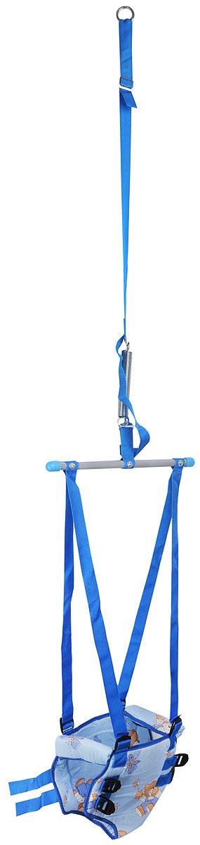 Фея Тренажер-прыгунки 4 в 1 цвет голубой