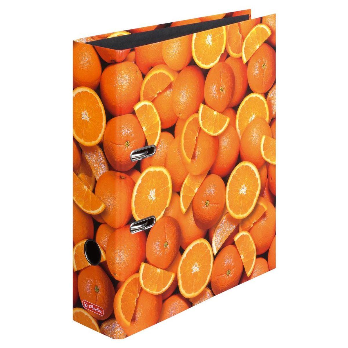 Herlitz Папка-регистратор MaX.file Апельсины фискальный регистратор атол fprint 22птк без фн white