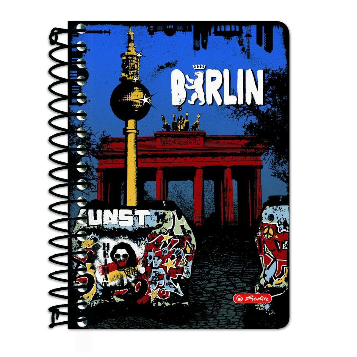 Herlitz Блокнот City Trips Berlin 200 листов в клетку tomy тракто farm с большими колесами