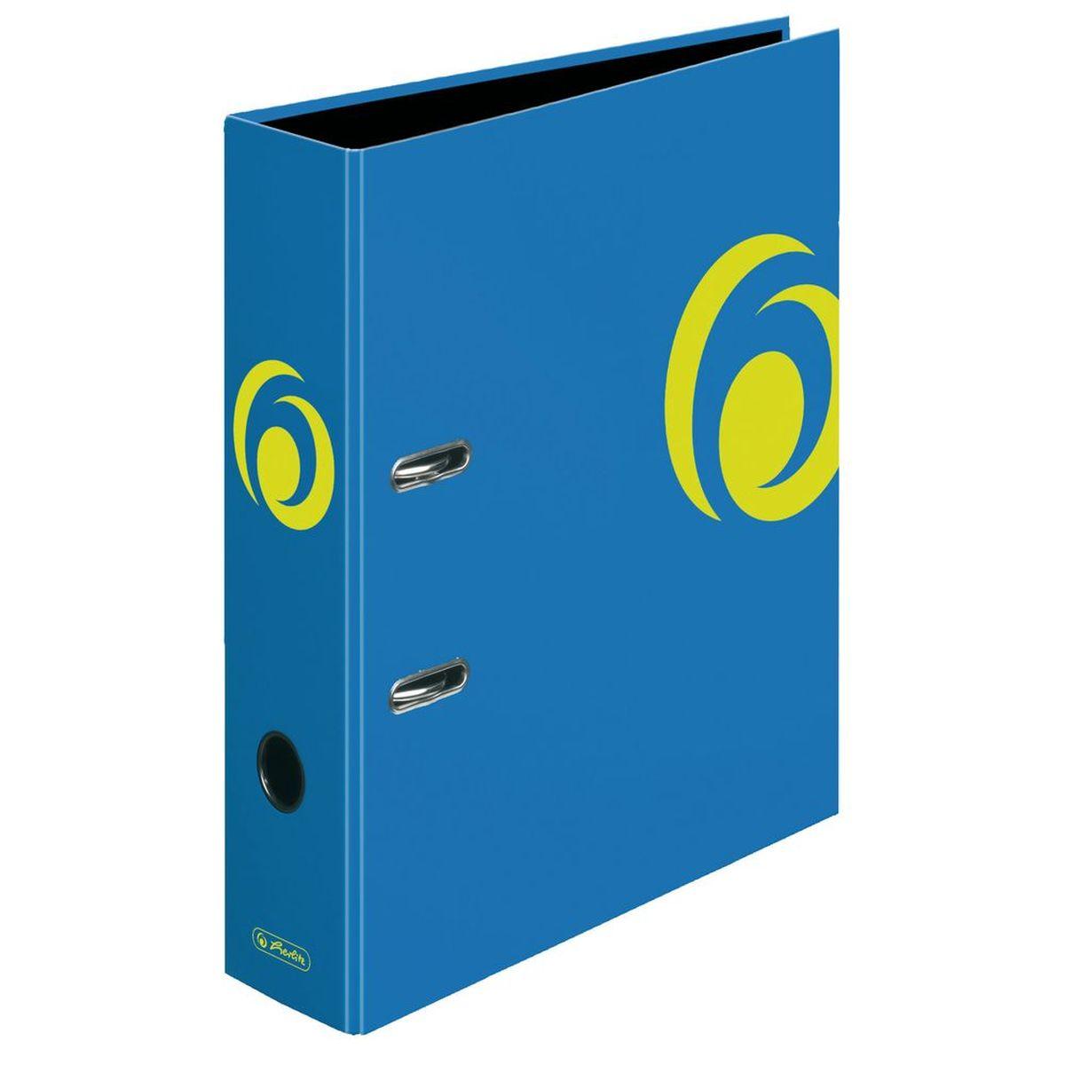 Herlitz Папка-регистратор MaX.file цвет синий11364338Практичная папка-регистратор Herlitz maX.file предназначена для хранения больших объемов документов. Ее обложка выполнена из ламинированного картона, с отделкой выборочным лаком. Папка оснащена прочным арочным механизмом улучшенного высокого качества с увеличенной прижимной силой. Основа папки изготовлена из прочного FSC-сертифицированного картона.Папка-регистратор значительно облегчает делопроизводство. Ярко-синийдизайн позволит ей стать достойным аксессуаром среди ваших канцелярских принадлежностей.