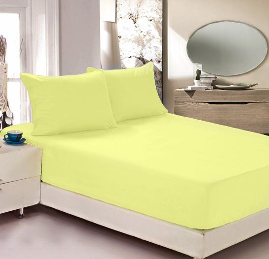 Простыня на резинке Легкие сны Color Way, трикотаж, цвет: желтый, 180 x 200 смЛСПР-180/3Простыня Легкие сны Color Way выполнена из трикотажа. Высочайшее качество материала гарантирует безопасность не только взрослых, но и самых маленьких членов семьи. Изделие прошито резинкой по всему периметру, что обеспечивает более комфортный отдых, так как оно прочно удерживается на матрасе и избавляет от необходимости часто поправлять простыню. Простыня гармонично впишется в интерьер вашей спальни и создаст атмосферу уюта и комфорта.Рекомендации по уходу:Деликатная стирка при температуре воды до 30°С.Отбеливание, химчистка запрещены.Рекомендуется глажка при температуре подошвы утюга до 150°С.Разрешена барабанная сушка.