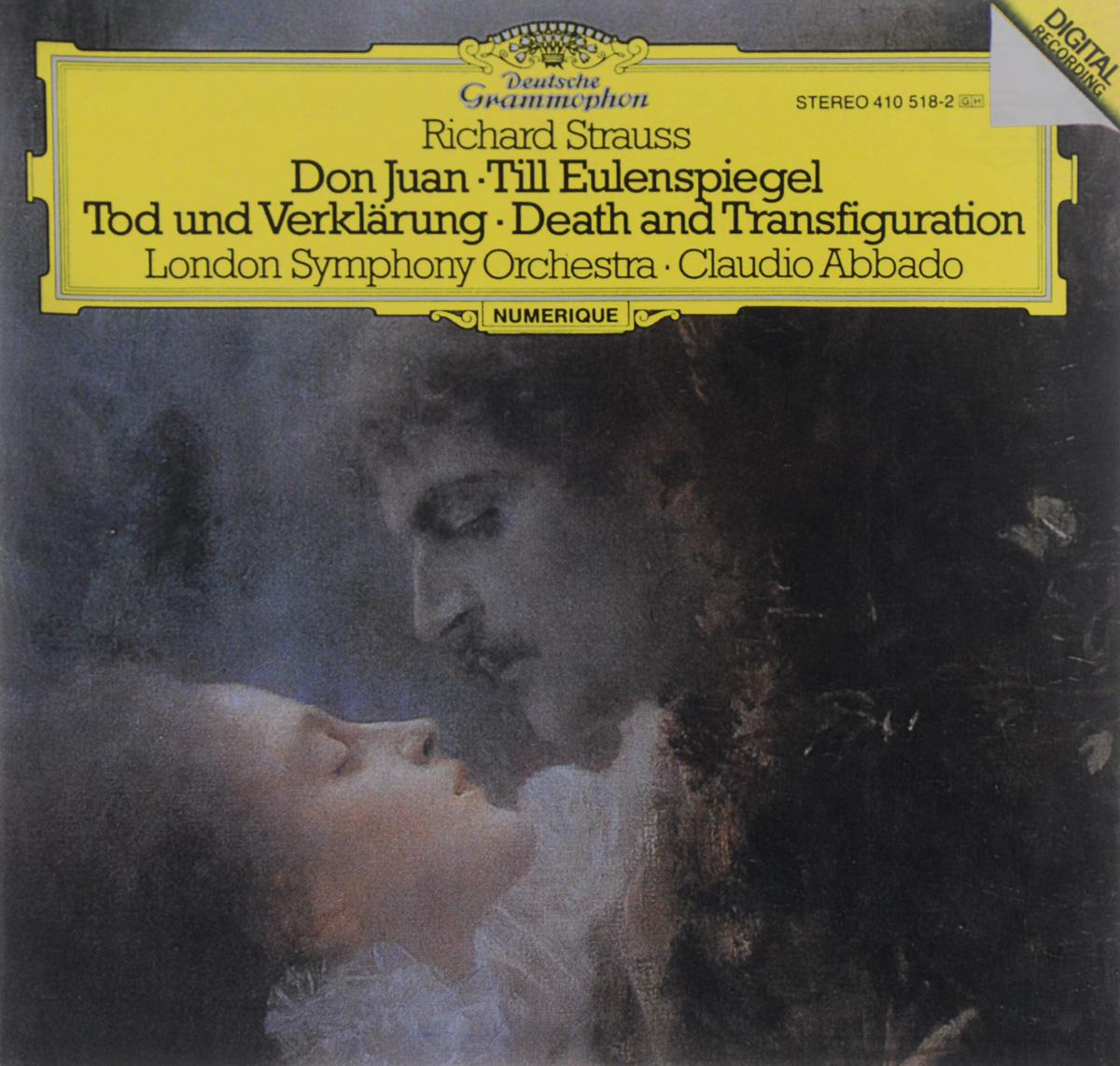 The London Symphony Orchestra,Клаудио Аббадо Claudio Abbado. Richard Strauss. Don Juan / Till Eulenspiegel / Tod Und Verklarung цены онлайн