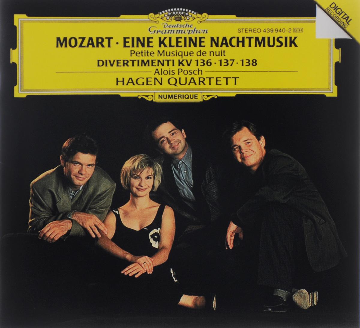Алоис Пош,Hagen Quartett Alois Posch. Mozart. Eine Kleine Nachtmusik / Divertimenti KV 136, 137, 138 wolfgang amadeus mozart eine kleine nachtmusik cd