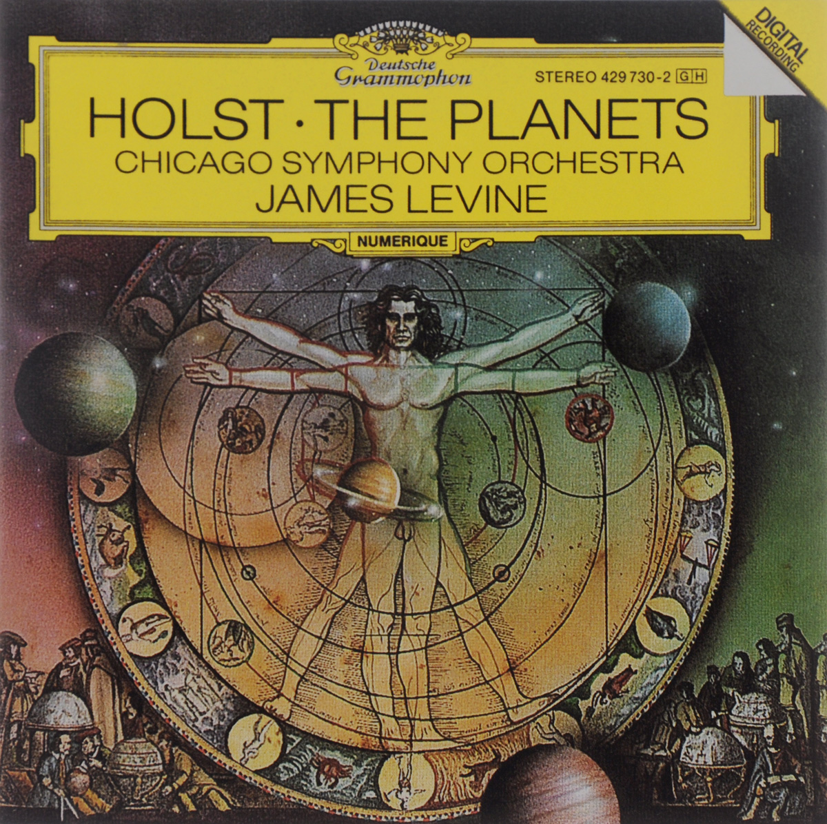 Chicago Symphony Orchestra & Chorus,Джеймс Левайн James Levine. Holst. The Planets planets