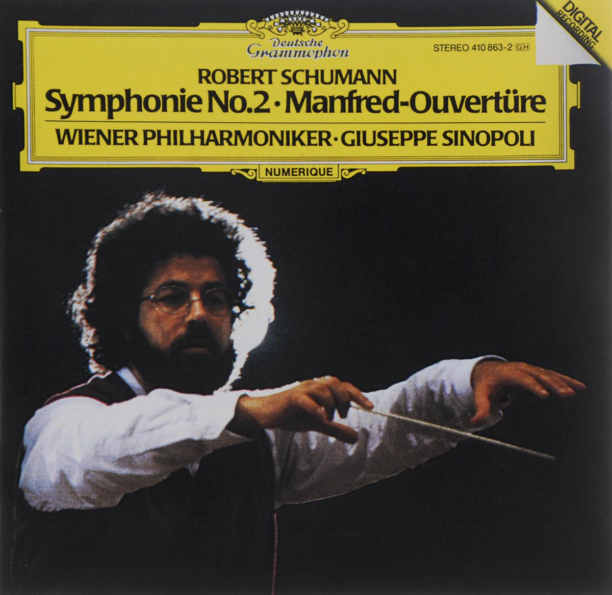 Wiener Philharmoniker,Джузеппе Синополи Giuseppe Sinopoli. Schumann. Symphony No. 2 / Manfred-Ouverture münchner philharmoniker elbphilharmonie hamburg