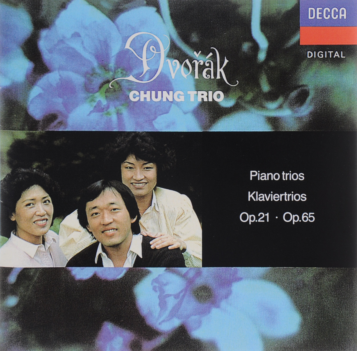 Chung Trio Chung Trio. Dvorak. Piano Trios Op. 21 / Op. 65 beaux arts trio джон роджерс joan rodgers beaux arts trio shostakovich piano trios 7 romances