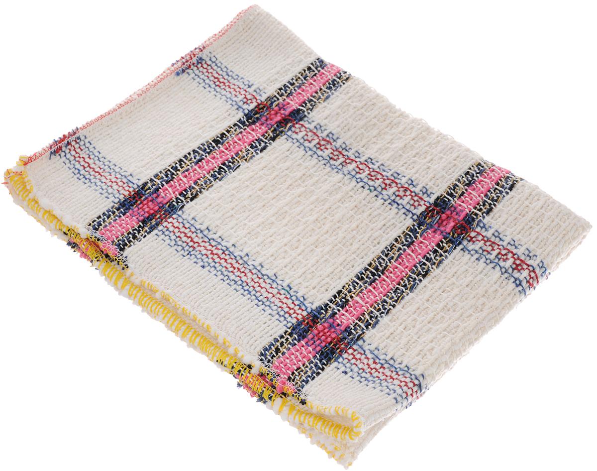 Тряпка для пола Apex Шотландка, цвет: молочный, розовый, черный, 60 х 40 см15081-A_молочный, розовый, черныйТряпка Apex Шотландка выполнена из 100% хлопка и предназначена для мытья напольных покрытий из любых материалов. Эффективно очищает любую поверхность, отлично отжимается и имеет долгий срок службы. Применяется для влажной и сухой уборки.