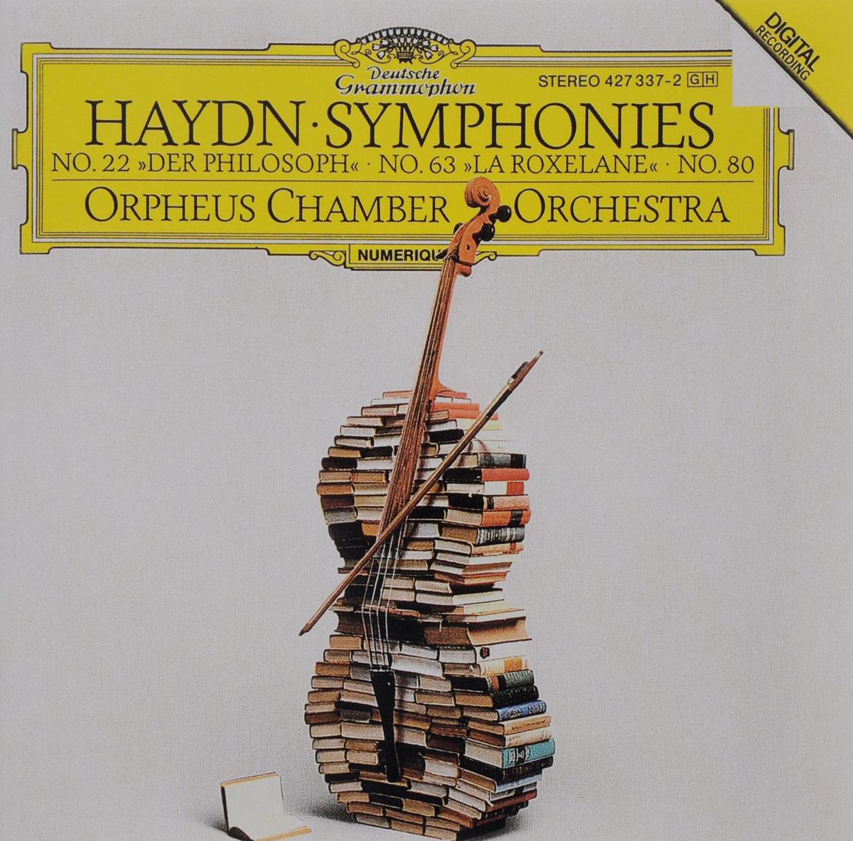 Orpheus Chamber Orchestra Orpheus Chamber Orchestra. Haydn. Symphonies No. 22, 63 & 80 адам фишер osterreichisch ungarische haydn philharmonie haydn symphonies no 92