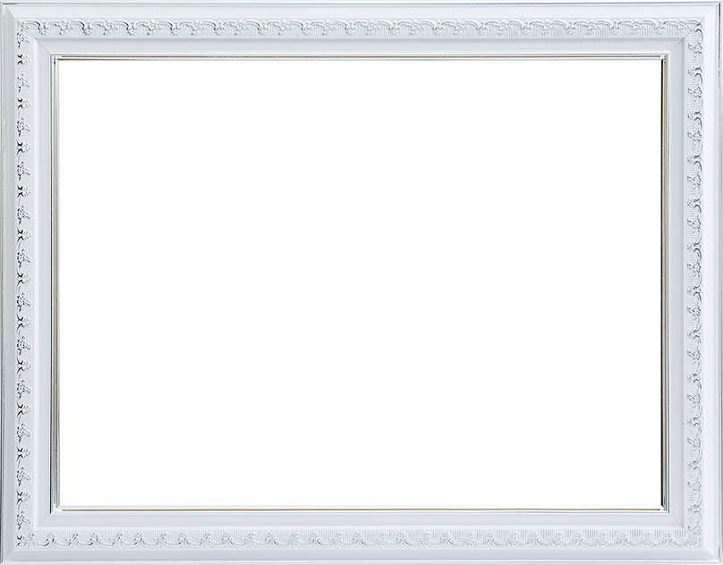 Багетная рама Белоснежка Bella , 30 см х 40 см, цвет: серебряный. 1051-BL1051-BL