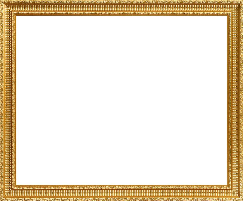 Багетная рам Белоснежка Eva , 40 см х 50 см, цвет: золотой. 2080-BB2080-BB