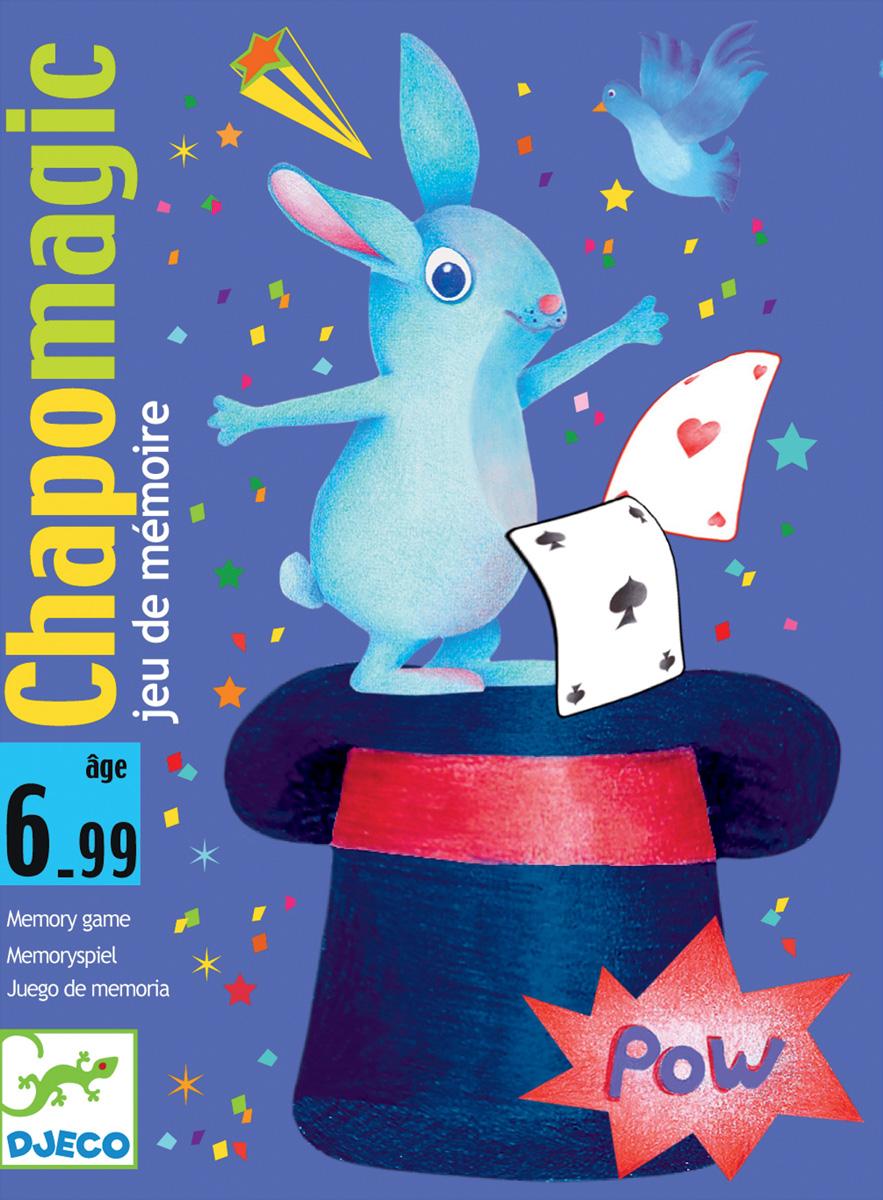 Djeco Настольная карточная игра Шляпа волшебника настольные игры djeco детская настольная карточная игра занимач